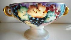 Rosenthal Selb Large Bowl Antique Art Nouvaeu by Auntiemollys, $1185.00