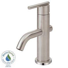 Danze D236058BN Parma Trimline Single Handle Lavatory Faucet, Brushed Nickel Danze