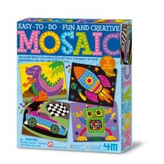 Another great find on Rocket & Robot Easy To Do Mosaic Kit by Toysmith Arts And Crafts Kits, Craft Kits For Kids, Crafts For Boys, Easy Mosaic, Craft Packaging, Hobbies For Kids, Mosaic Pictures, Science Kits, Educational Toys For Kids