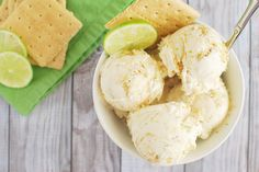 Get excited for summer with Key Lime Pie Ice Cream!