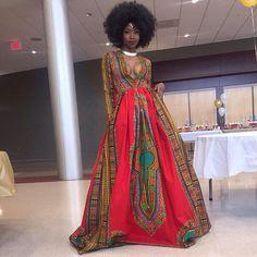 Teen Kyemah McEntyre's Red Prom Dress   POPSUGAR Fashion