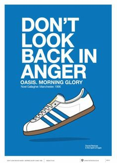 adidas sneakers scarpe shoes flyer advertising oasis don't look back in anger style outfit street style casual style urban dress urban outfit Casual Art, Style Casual, Adidas Retro, Vintage Adidas, Adidas Superstar, Best Sneakers, Sneakers Fashion, Urban Outfit, Adidas Sneakers