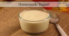 Homemade Yogurt 1