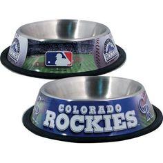 Colorado ROCKIES  MLB 32 oz. Water Bowl