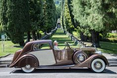 1938 Rolls-Royce Wraith Sedanca de Ville Park Ward
