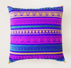 Woven Silk Brocade Cushion / Pillow CoverSet of Two by anekdesigns, $46.00