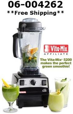 We at PerfectSmoothie.com are pleased to extend a promotional discount offer given to us by Vita-Mix for FREE SHIPPING (worth $25/35 CAN).