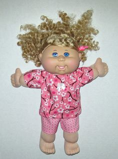 Cabbage Patch Doll Clothes Cherry Blossom Top and by Dakocreations, $14.50