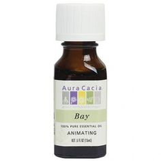 Aura Cacia - Bay Essential Oil 0.5 oz Candle Jars, Candles, Date List, Best Oils, Modern Shop, Beauty Packaging, Pure Essential, Natural Make Up, Pet Accessories