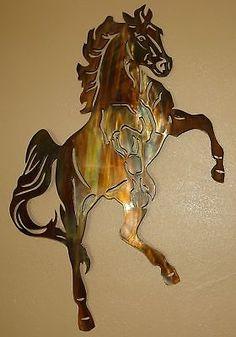 Fire Ball  Western Metal Wall Art Decor by HGMW