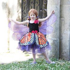 Roter Admiral Schmetterlingskostüm - Größe 9 -11 Jahre: Amazon.de: Spielzeug