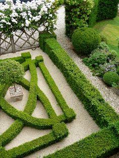 Knot garden design.