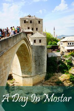 Tips for planning a day trip to Mostar in Bosnia and Herzegovina. #Mostar #travel