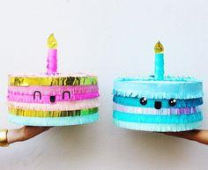 Piñatas de diseño para festejar con estilo -  Un unicornio con su cuerno brillante, Darth Vader poniendo cara de malote y un tierno perro bu... Boy Birthday Parties, Diy Birthday, Birthday Cake, Eid Crafts, Diy And Crafts, Deco Kids, Ideas Para Fiestas, Fiesta Party, Diys