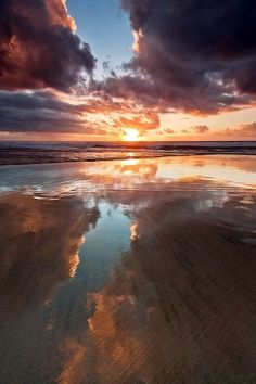 Sunset, San Gregorio State Beach, California