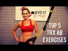 TRX Top 5 Ab Exercises for a Strong Core and Sculpted Abs - YouTube