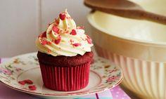 Red velvet-cupcakes opskrift | Dr. Oetker