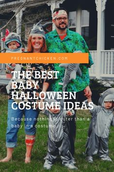 It's a scientifically unproven reality that there's nothing extra squeal-inducing than child Halloween costumes. Kiddo costume picks and dang, did they ship. Funny Baby Halloween Costumes, Diy Costumes For Boys, Baby First Halloween, Boy Costumes, Creative Halloween Costumes, Sibling Costume, Pregnancy Costumes, Mom Advice, Baby Tips