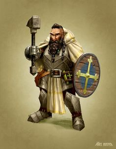 Torin Mulekick, Dwarf Cleric of Torag, member of the Fallen Four Fantasy Dwarf, Fantasy Rpg, Medieval Fantasy, Dwarf Paladin, Cleric, Dnd Characters, Fantasy Characters, Character Concept, Character Art