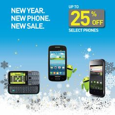 The perfect reason to start the new year off with a new phone: Save up to 25% off select models from our online store. Sale starts NOW! Visit www.ptel.com/phones/sale for our full list of phones.