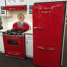Comeaux Furniture & Appliance carries retro styles, including the…