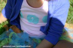 eve & apple fabric stamp kid craft