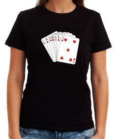 Women T-Shirt Jackass - Cards