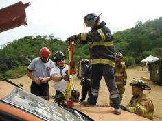 First Responder Jack durante entrenamiento en Bomberos Los Cabos 2013.  EMS México     Equipando a los Profesionales
