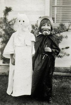 vintage everyday: Creepy Halloween Costumes from bewteen 1930's - 1940's