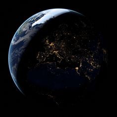 #astronomy #city lights #clouds #cosmic #cosmos #earth #global #globe #night sky #orbit #planet #science #solar #space #universe