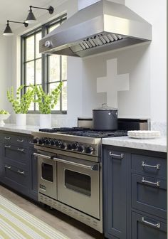 Kitchen:Outstanding Modern Grey Kitchen Design Ideas By Jeanne Rapone Modern Appliances Wood Floor Marble Countertop White Grey Cabinet Kitchen Design  Ideas Decor Furniture Modern Island Design