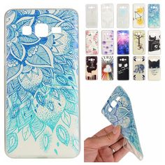 Dandelion Color Pattern Transparent Soft TPU Phone Case coque For Samsung Galaxy Grand Prime G530 G531H Leaves Back Cover Cases