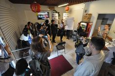 """Chinatown Art Brigade Protests Omer Fast's """"Racist"""" Exhibition at James Cohan Gallery"""