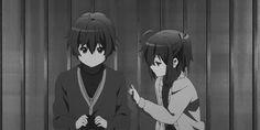 Discover & share this Chuunibyou Demo Koi Ga Shitai GIF with everyone you know. GIPHY is how you search, share, discover, and create GIFs. Anime Girl Neko, Kawaii Anime, Manga Anime, Anime Art, Koi, Gifs, Rikka And Yuuta, Fanart, Kyoto Animation