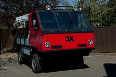 Global Vehicle Trust. Flat pack truck called Ox. Designed for third world transportation.