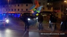 BMW 3-8 Series 5-Series crashed in Worms, Germany
