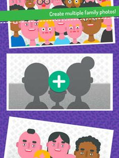 Family Photo by Deck - a fun digital toy that helps preschoolers create their own characters and bring them together for a family photo Color Shapes, Toddler Preschool, Creative Kids, App Design, Little Ones, Family Photos, Literacy, Have Fun, Deck
