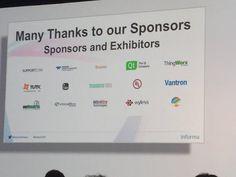Neil Hampshire @Neil_H_NYC: #iotworld16 sponsors - maybe @ModusLink next time??