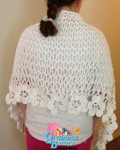 Wedding Shawl by grammabeans on Etsy, $60.00