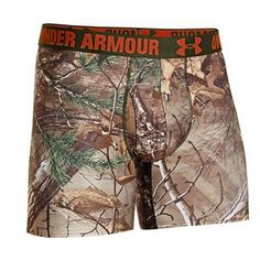 Under Armour Men's UA Camo Boxerjock Boxer Briefs