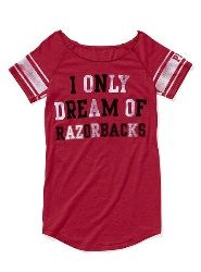 #razorback sleep shirt - my birthday present from my awesome SIL @April Cochran-Smith Wolfe!