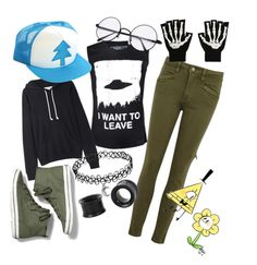 """""""My in Gravity Falls"""" by xxonyx-lightwaterxx ❤ liked on Polyvore featuring Paige Denim, La Garçonne Moderne, Keds and Disney"""