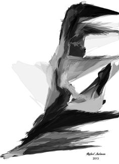 Abstract Series I  Black and White artwork by Rafael Salazar Artist from Colombia  Strong and Emotional Sketches in this new Collection mark the end of the 2013 year with Artistic Fireworks.  Deliberate style capture Strength in these images that conmemorate the End of the Year with an Asian flair. Black brushstrokes with precise accuracy portray Energy and Balance. Movement and Fluidity make these series a great addition to any decor.  Hang it on a wall on either Canvas, Metal or Art Print