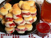 Mini Biscuits - Party Biscuits Recipe