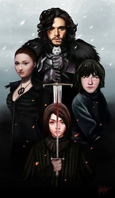Os lobos de Winterfell