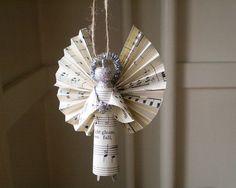 Wäscheklammer-Angel handgemachte Verzierung gemacht mit