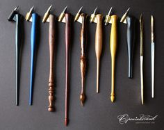 via Fountain Pen Network. What an enviable collection! Calligraphy Tools, Calligraphy Tutorial, How To Write Calligraphy, Calligraphy Letters, Caligraphy, Dog Pen, Fine Pens, Beautiful Handwriting, Penmanship