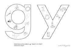 Játékos tanulás és kreativitás: Kisbetűkben képek a hangfelismerés gyakorlásához Dysgraphia, Folk Art, Symbols, Letters, Teaching, School, Montessori, Valentino, Lego