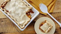 Triple Crust Peach Cobbler - When two crusts in a cobbler just aren't enough, try this recipe. You'll find three flaky layers separated by sweet, juicy peaches. Just Desserts, Delicious Desserts, Dessert Recipes, Cupcake Recipes, Fruit Cobbler, Cobbler Recipe, Great Recipes, Favorite Recipes, Food To Make