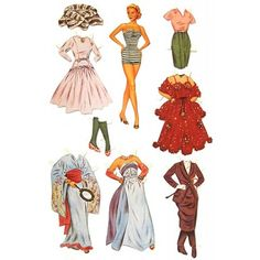 Paper Dolls : Grace Kelly Paper Doll Set : 1955 Hollywood Star : Princess of Monaco